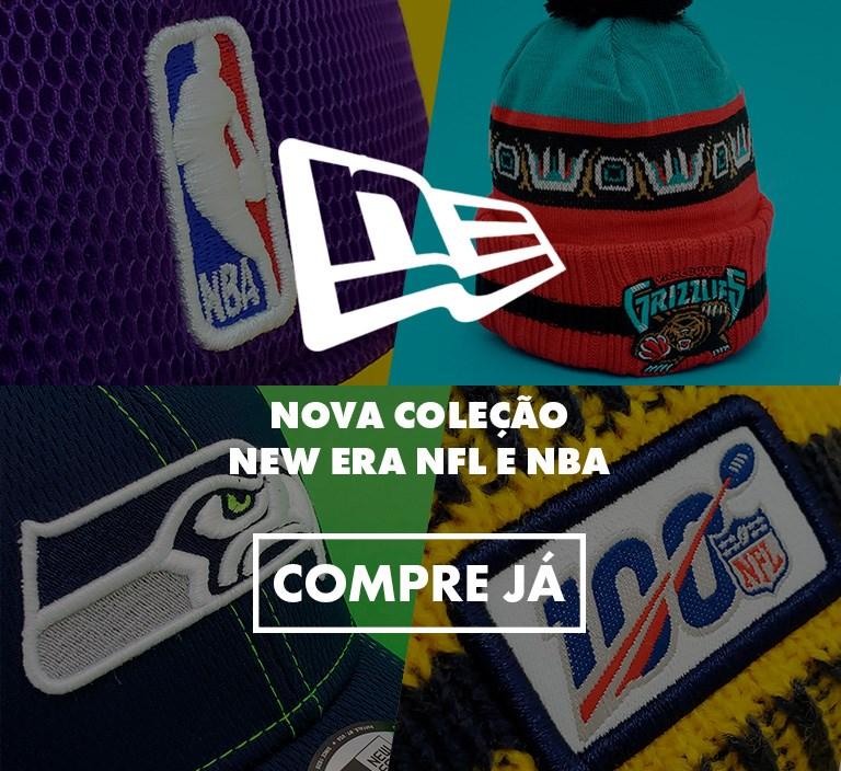 Nova coleção New Era - NFL e NBA