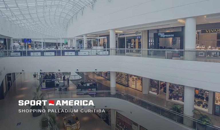 Loja Sport America - Shopping Palladium em Curitiba