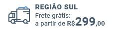 Frete grátis: a partir de R$ 299 para região Sul!