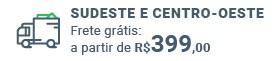 Frete grátis: a partir de R$ 399 para regiões Sudeste e Centro-Oeste!