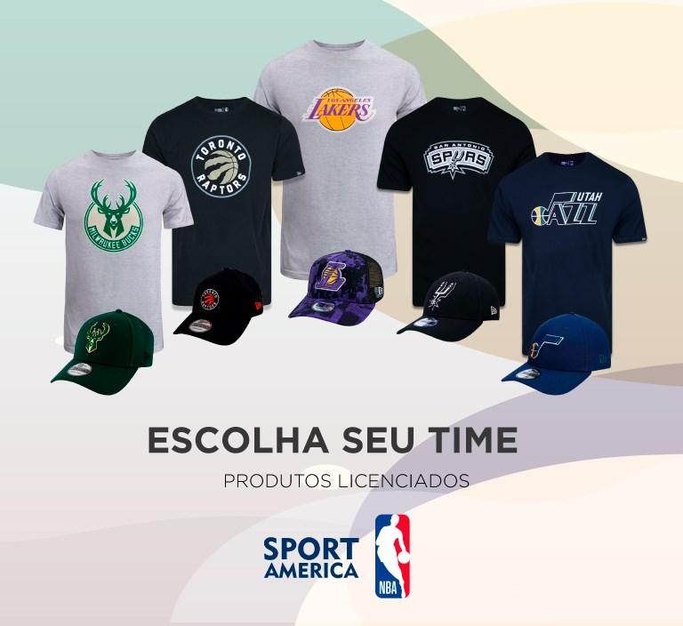 Produtos licenciados NBA