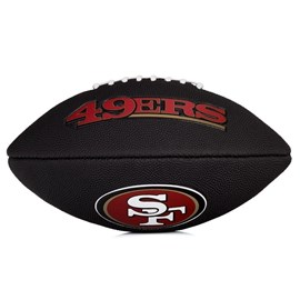 Bola Wilson NFL Team San Francisco 49ers Junior Black