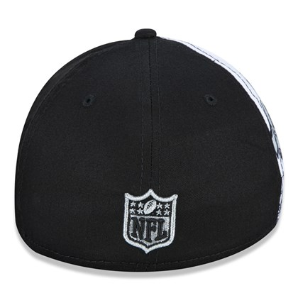 Boné 3930 NFL - Draft Font Las Vegas Raiders - New Era