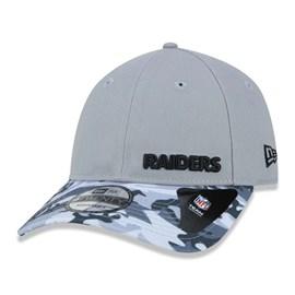 Boné 920 NFL Las Vegas Raiders Military Visor - New Era