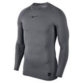 Camiseta de Compressão Manga Longa Nike Pro