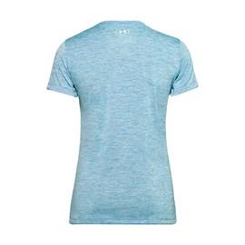 Camiseta de Treino Feminina Tech Twist Graphic Under Armour Azul