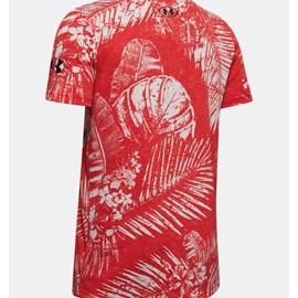 Camiseta de Treino Masculina Project Rock Aloha Camo SS Under Armour