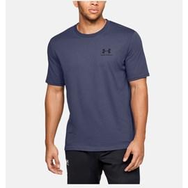 Camiseta de Treino Masculina Under Armour Left Chest Azul