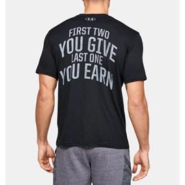 Camiseta de Treino Masculina Under Armour Project Rock BSR