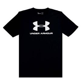 Camiseta de Treino Masculina Under Armour Sportstyle Logo Preto