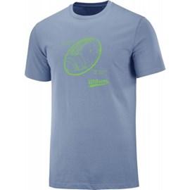 Camiseta Draw Masculina Azul