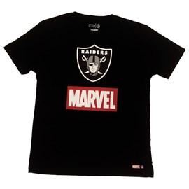 Camiseta Marvel NFL - Las Vegas Raiders