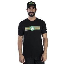 Camiseta NBA Boston Celtics Stripe New Era