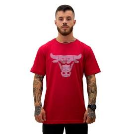 Camiseta NBA Chicago Bulls Estampada Silver - NBA