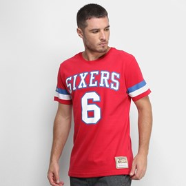 Camiseta NBA Erving 6 Philadelphia 76ers - Mitchell & Ness