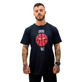 Camiseta NBA Estampada Chicago Bulls