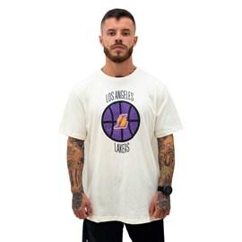 Camiseta NBA Estampada Los Angeles Lakers