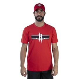 Camiseta NBA Houston Rockets Stripe New Era