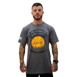 Camiseta NBA Los Angeles Lakers Estampada Ball - NBA