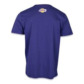 Camiseta NBA Los Angeles Lakers Grafite - New Era