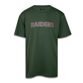 Camiseta Plus Size NFL Las Vegas Raiders Military Basic - New Era