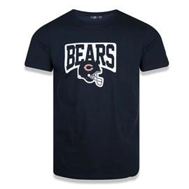 Camiseta Slim NFL Chicago Bears Helmet - New Era