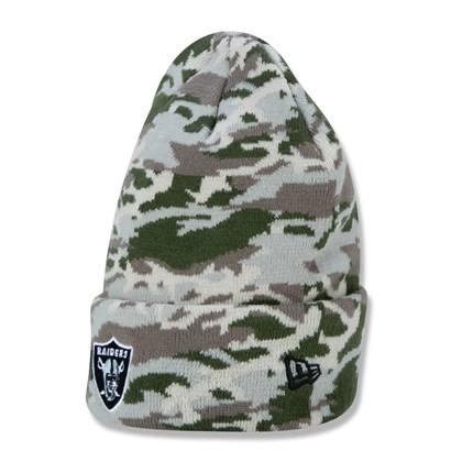 Gorro NFL Las Vegas Raiders Military Full - New Era