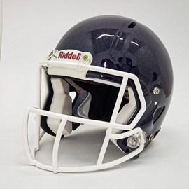 Helmet Riddell Speed com Facemask e Chinstrap - Recondicionado e Recertificado
