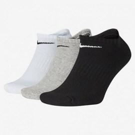 Kit 3 Pares de Meia Nike Everyday Cushioned No Show