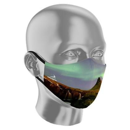 Máscara Islândia - Marco Brotto