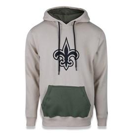 Moletom Canguru Fechado NFL New Orleans Saints Military Logo - New Era