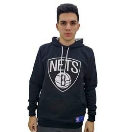 Moletom Canguru NBA Brooklyn Nets