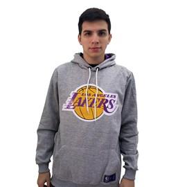 Moletom Canguru NBA Los Angeles Lakers Mescla