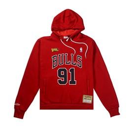 Moletom Hardwood Classics NBA Chicago Bulls Name Number - Mitchell e Ness