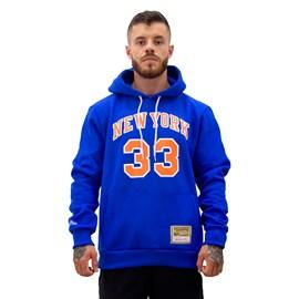 Moletom Hardwood Classics NBA New York Knicks Name Number - Mitchell e Ness