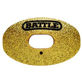 Protetor Bucal Oxygen Glitter Gold Battle