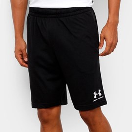 Shorts Sportstyle Cotton Under Armour Preto